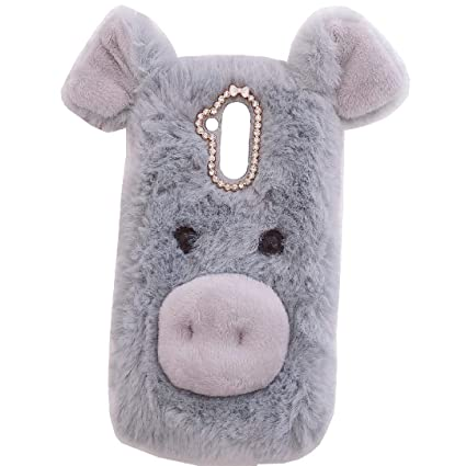 Amazon.com: Huawei Mate8 Art Case, Handmade Fluffy Villi ...