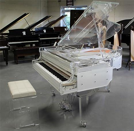 Marca nuevo cristal transparente Piano.