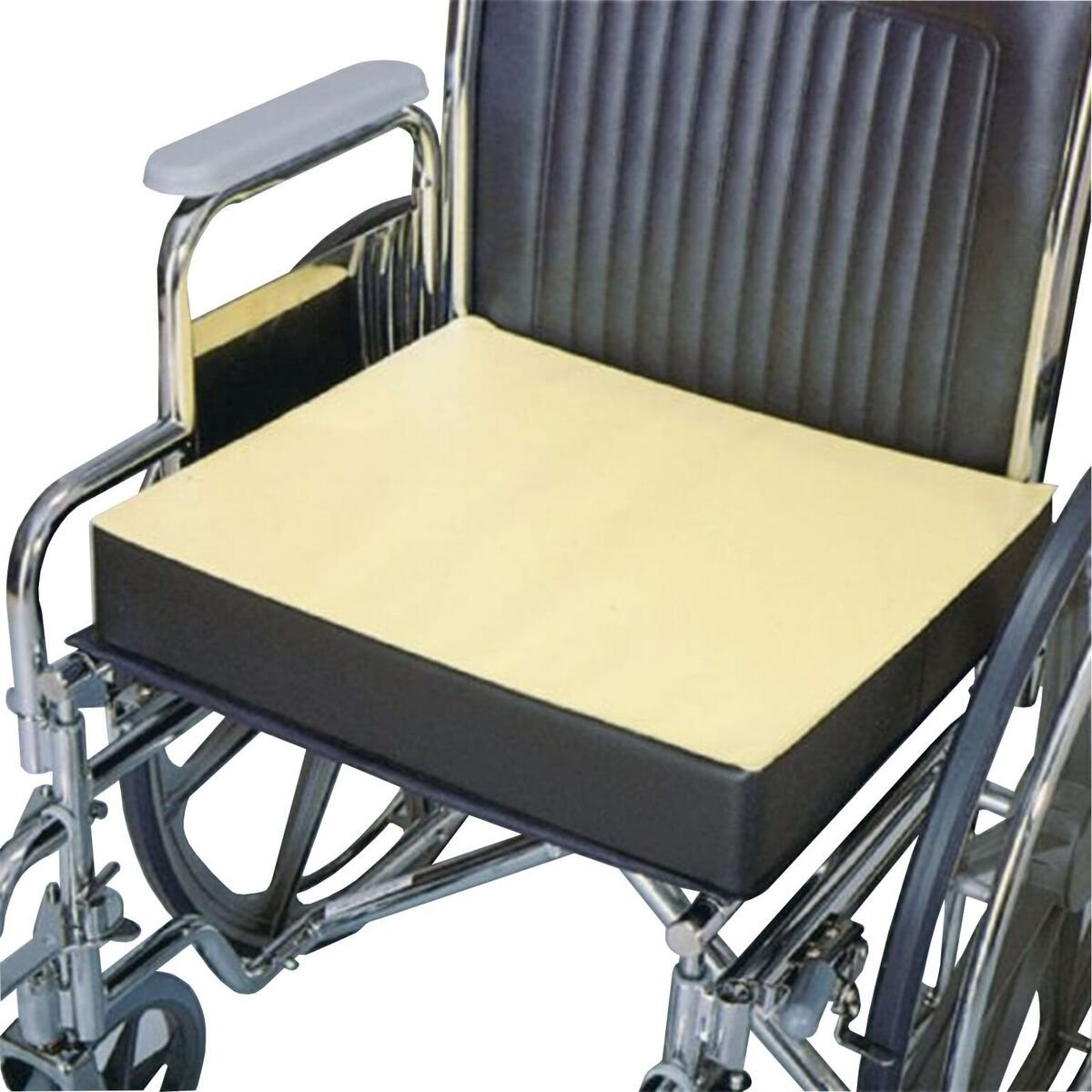 Physical Therapy Aids 081226802 Comfort Foam Wheelchair Cushion, 18''x 16''x 3'' by Physical Therapy Aids