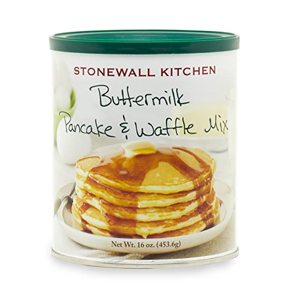Stonewall Kitchen Panqueque y mezcla de Waffle, suero de leche 16 onzas De