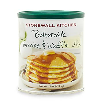 amazon com stonewall kitchen buttermilk pancake and waffle mix 16 rh amazon com