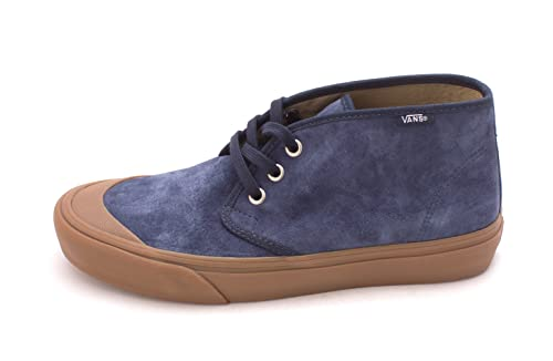Vans Mens PRAIRIE CHUKKA DR Fabric Low Top Lace Up Skateboarding Blue Size 8.0