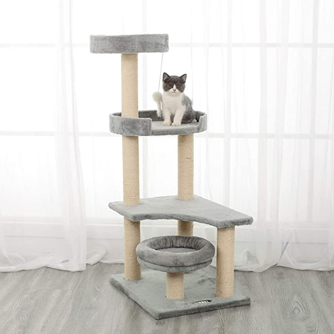 Amazon.com: Ipet Home Árbol de escalada para gatos con ...