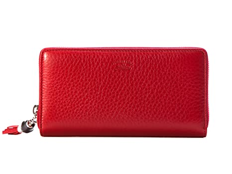 29b3198058e Gucci Women s 307984A7M0N6433 Red Leather Wallet  Amazon.ca  Sports    Outdoors