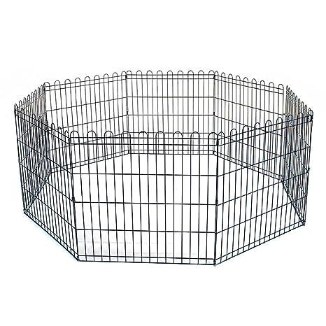 Reja Para Perros Gatos Cachorros Valla animales jaula 8 elementos 61 x 61 cm