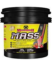 Mammoth Supplements Mammoth Mass, 10lb - Strawberry 10 pound