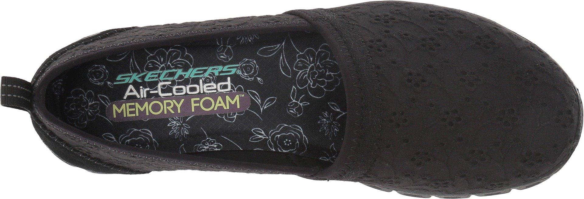 Skechers Ez Flex 3.0 Kindred Spirit Womens Slip On Sneakers,Black,9 by Skechers (Image #2)
