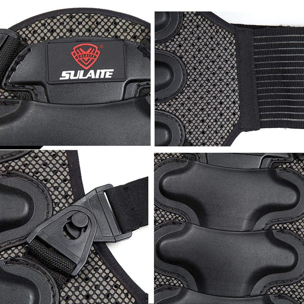 M H-sunshy Apoyo Lumbar con Fuertes Tirantes de Doble Banda XL Faja para la Cintura//Espalda//Zona Lumbar - Color Negro L Talla S