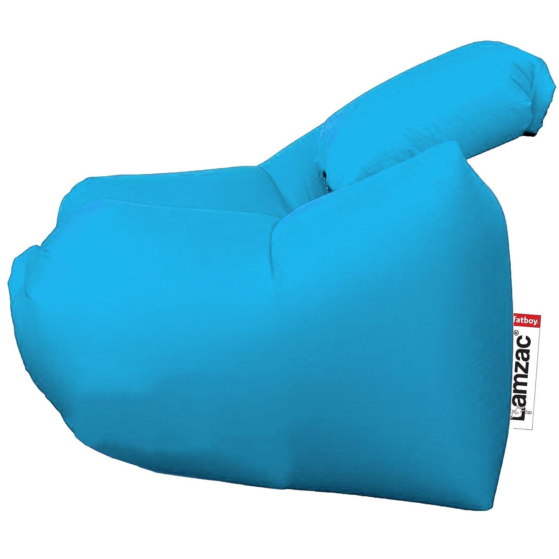 lamzac StoelインドアアウトドアインフレータブルAir Loungerソファ椅子 B075DJP7CD  アクアブルー