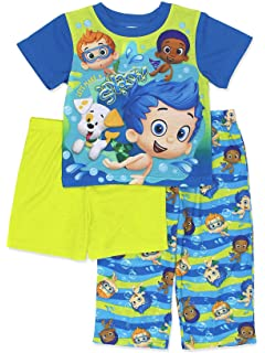 Bubble Guppies Footed Sleeper Blanket Pajama Boy Size 5T