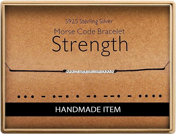 Amazon.com: Regalos de cumpleaños para amigos Morse Code ...