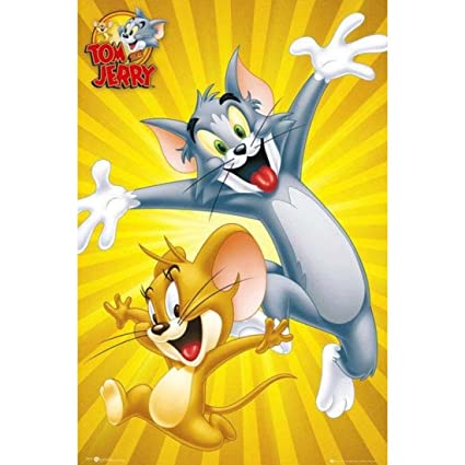 tom n jerry maxi poster by gb eye amazon in toys games