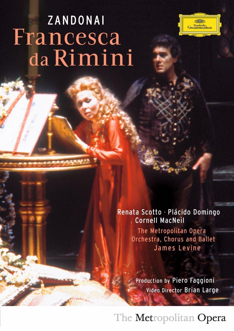 DVD : James Levine - Francesca Da Rimini (Subtitled)