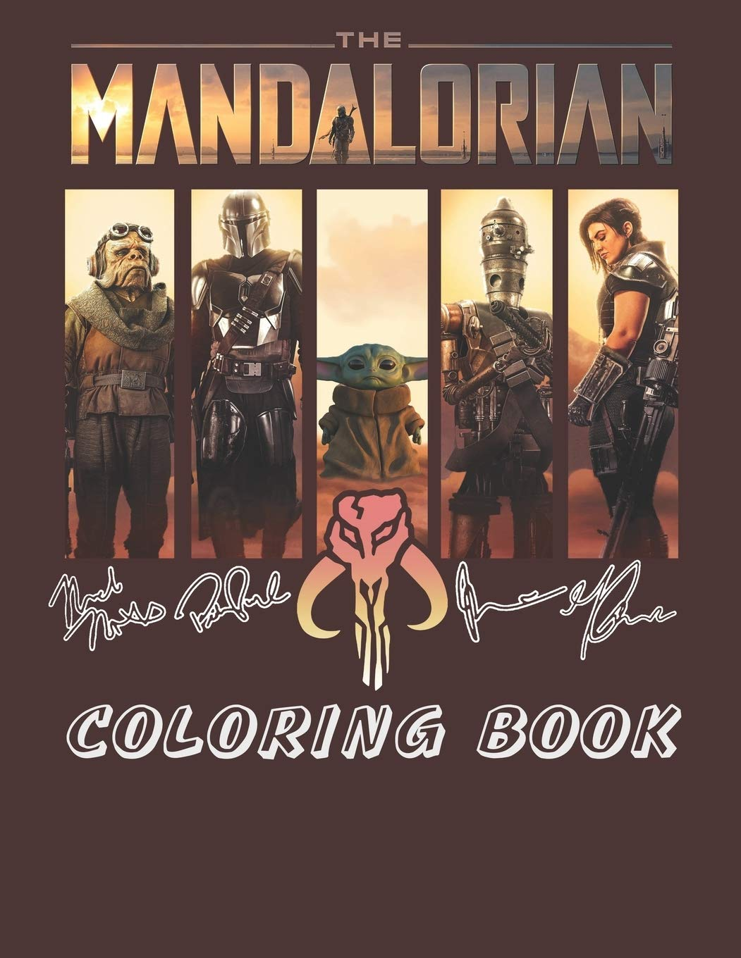 - The Mandalorian Coloring Book: Unique Coloring Pages For Kids