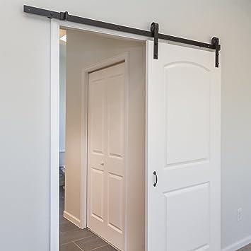 Marko Homewares 2 m puerta corredera granero madera sistema de ...
