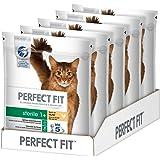 Perfect Fit Katzenfutter Trockenfutter Sterile 1+ reich an Huhn, 5 Beutel (5 x 750 g)
