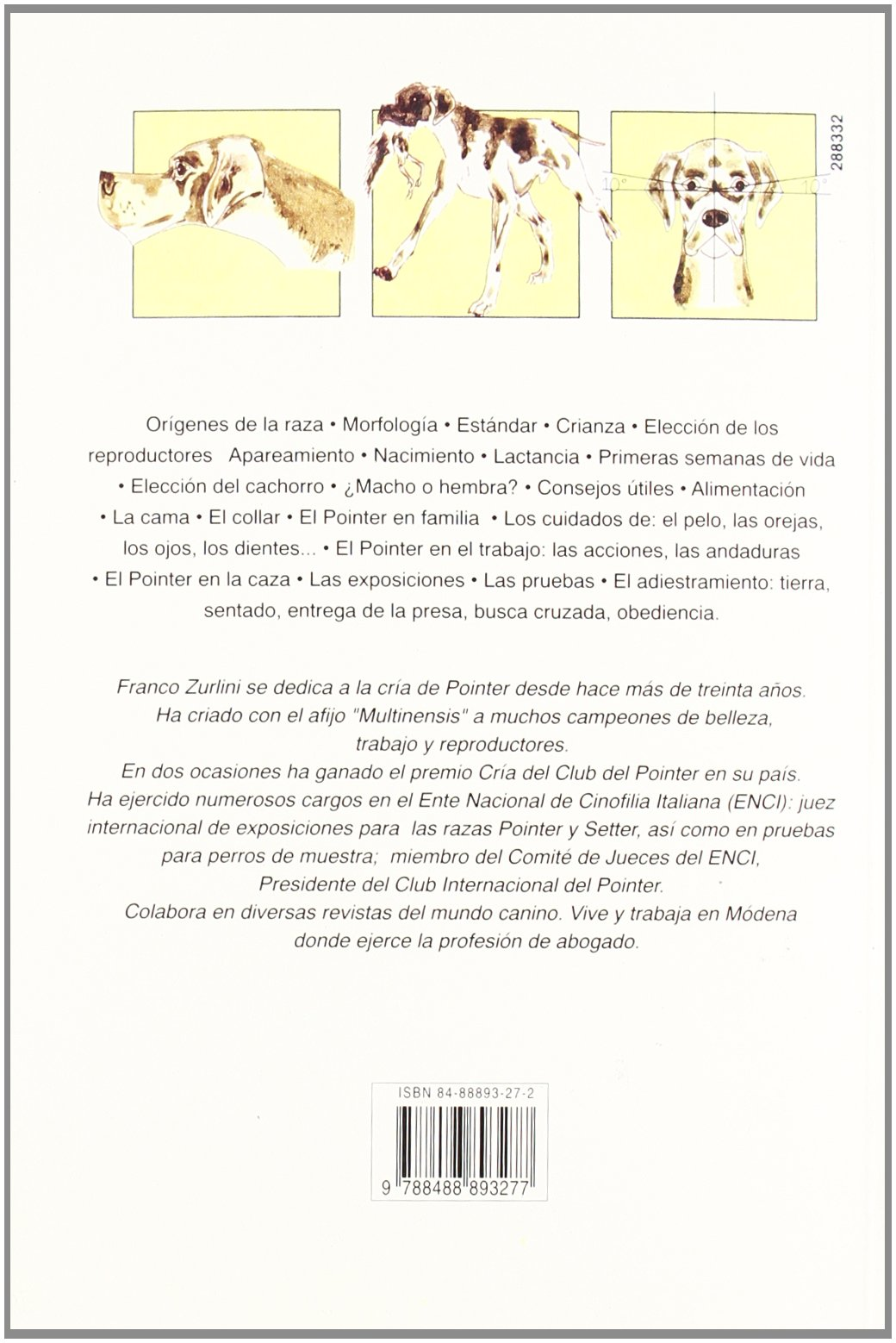 El Pointer (Spanish Edition): Franco Zurlini: 9788488893277: Amazon.com: Books