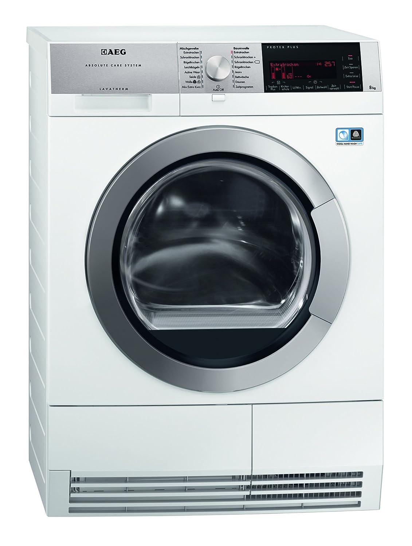 AEG T97685IH3 Wärmepumpentrockner/A+++ / 8 kg/Wolle und Seide Trockenprogramm/weiß [Energieklasse A+++]