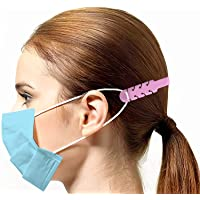 Mask Extension Strap Pack 5 Units Adjustable Extender Random Color for Ear Holder Ear hook Silicone