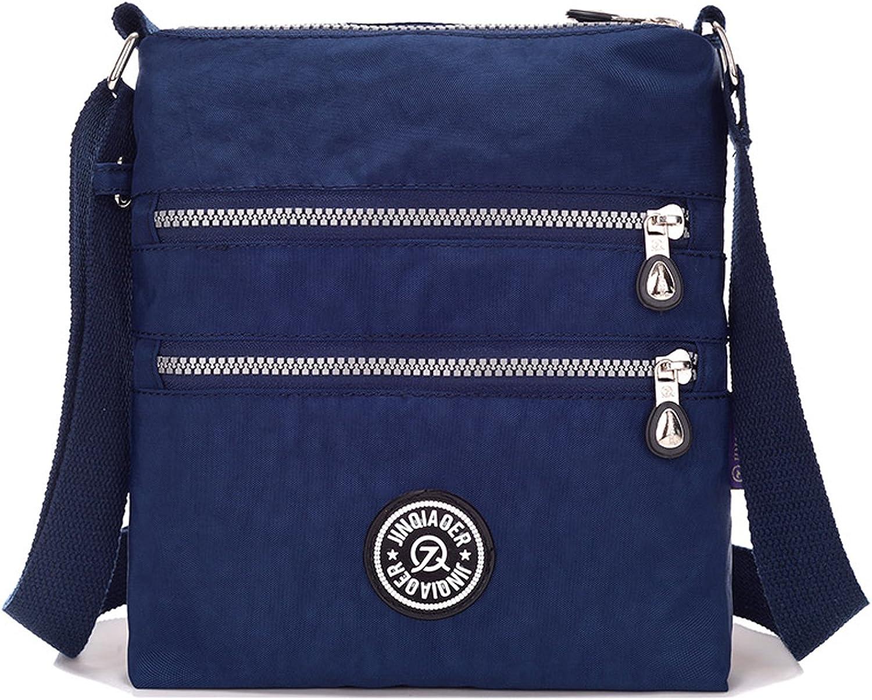 Outreo Sac Porté épaule Femme Sac bandoulière Léger Sac Besace Imperméable Voyage Sac à Main Loisir Fille Sacoche de Mode pour Sport Bag