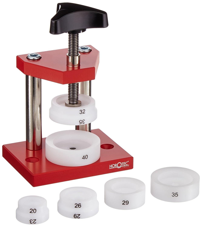Horotec Bez Spindelpresse klein mit 6 DruckstÜcken rot 020333