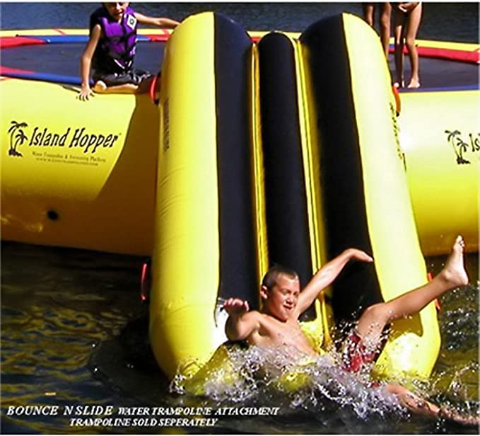 Island Hopper Bounce N Slide Attachment - A Fun Water Slide Attachment