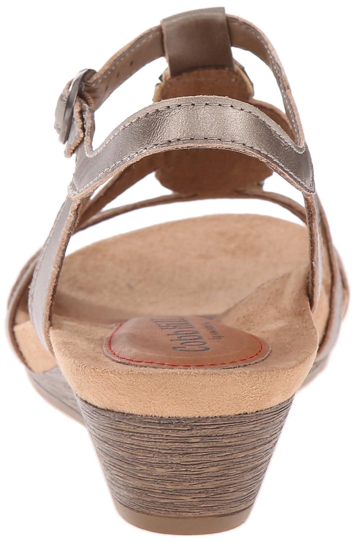 Cobb Hill Women's Women's Hill Hannah Black sandals 7 M B014UY1AAU Wedge 50d914