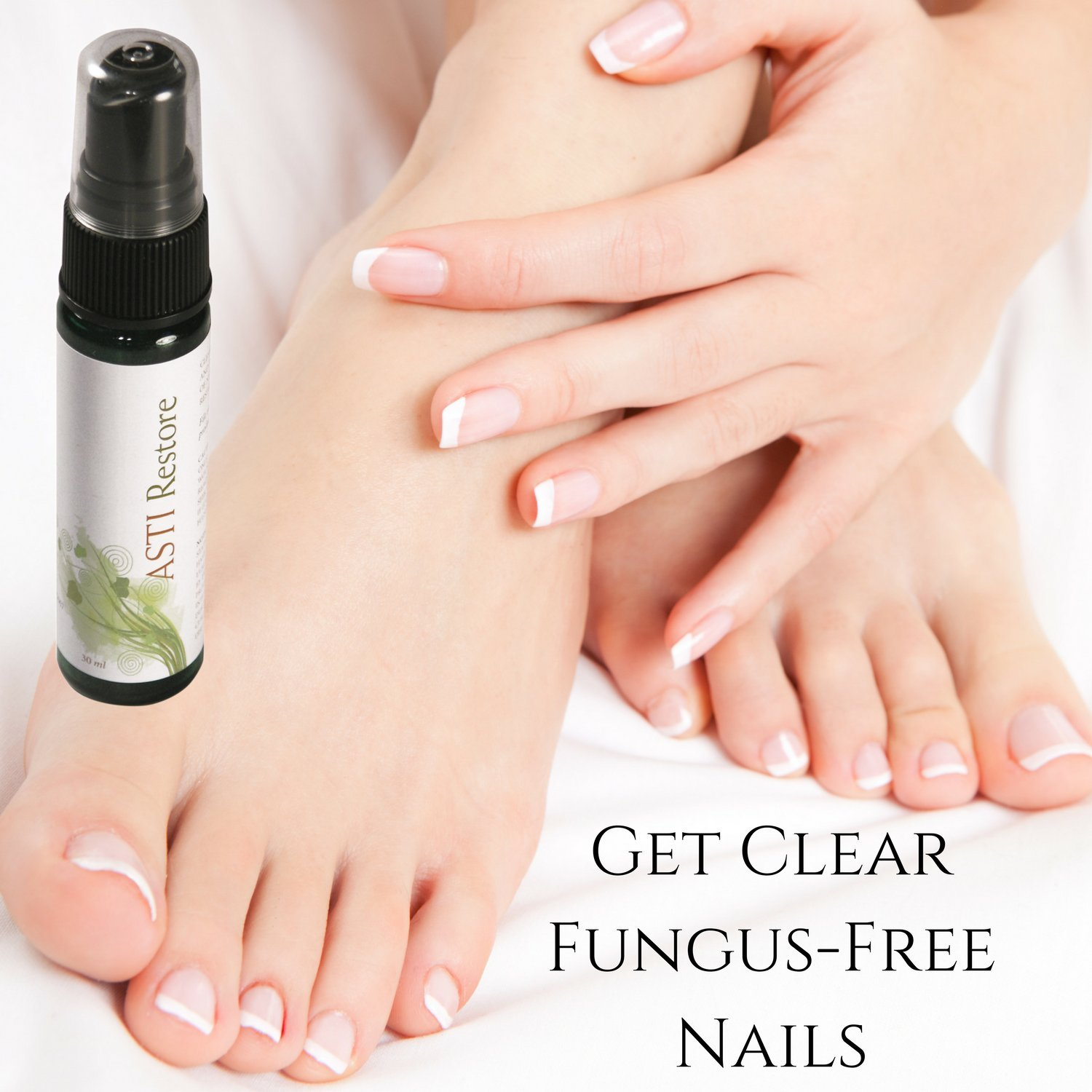 Amazon.com : 100% Natural Nail Fungus Remedy for Toenail or ...