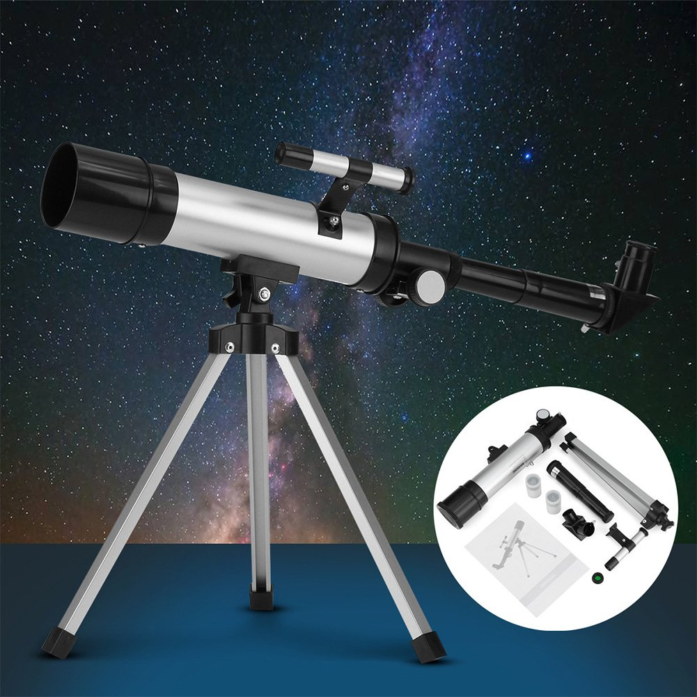 90X Refractor Monocular Astronomical Telescope for Kids with Portable Tripod