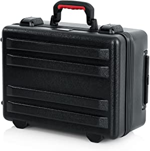 Gator Cases Molded Flight Case for Laptop and Projectors with TSA Approved Locking Latches and Recessed Wheels (GTSA-LAPTOP)