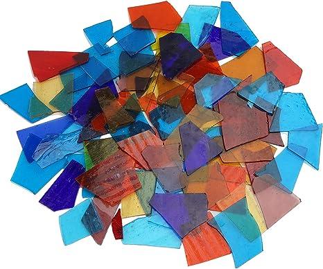 Soft Green Glass Micro Mosaic Craft Tile
