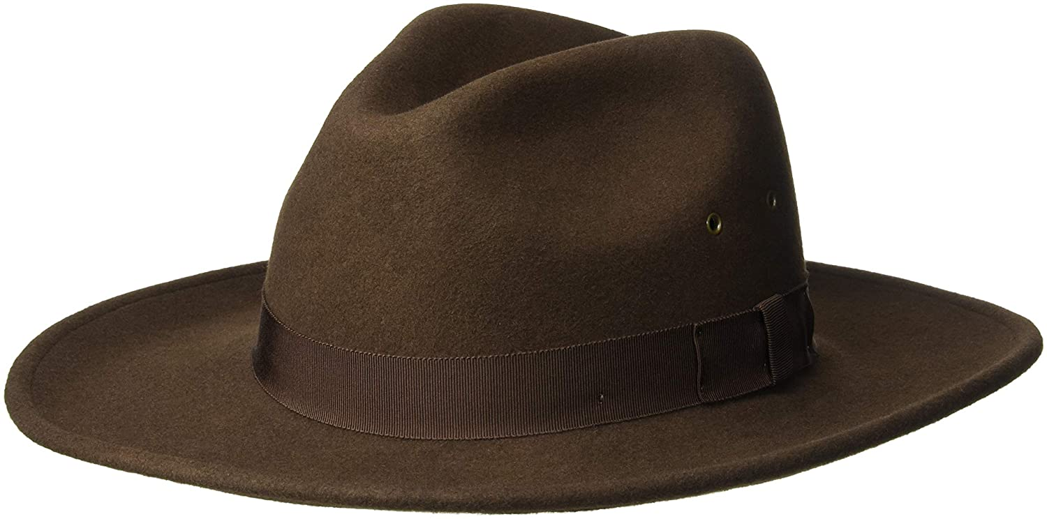 fb57b5ac3622d7 Country Gentleman Men's Twain Fedora Trilby Hat at Amazon Men's Clothing  store: