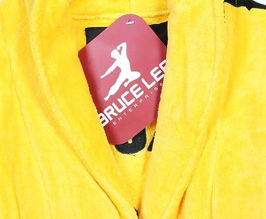 Amazon.com  Bruce Lee Jeet Kune Do Yellow Cotton Bathrobe  Clothing 1967e57f5