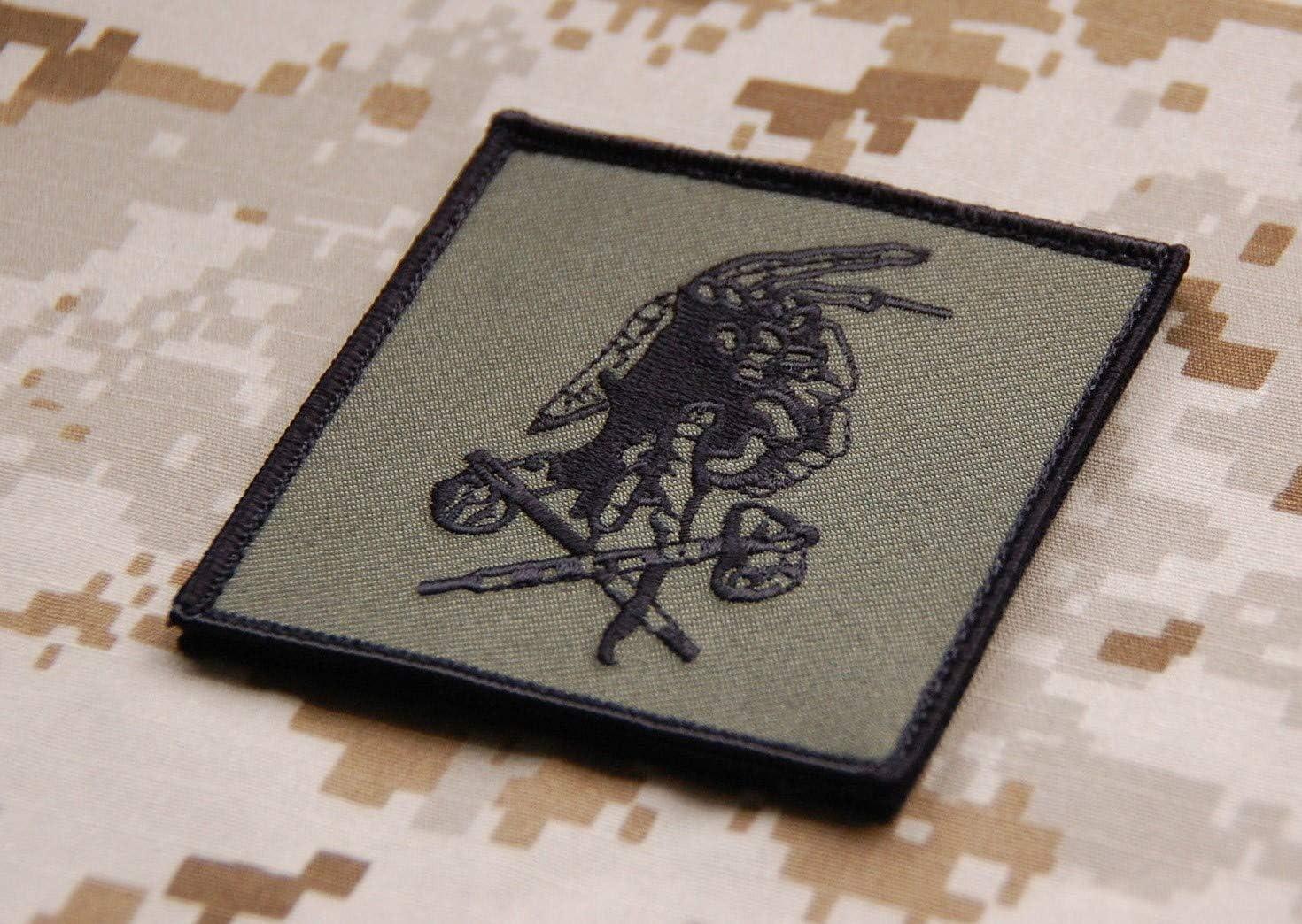 BritKitUSA NSWDG Red Squadron Team Patch OD Version AOR2 DEVGRU ST6 Red Team Bin Laden Raid