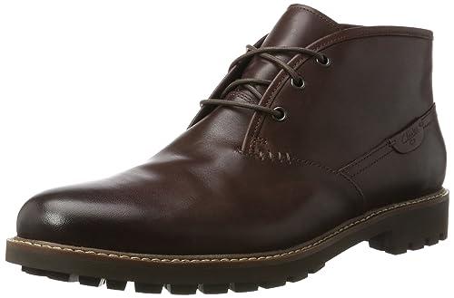 Clarks Montacute Duke, Botines para Hombre: Amazon.es: Zapatos y complementos