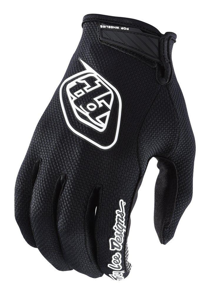 2018 Troy Lee Designs Youth Air Gloves-Black-YXL