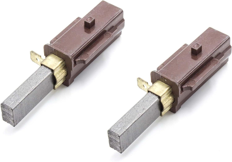 2x MOTORE Spazzole di carbone con socket come miele 2830480 Europart 832297