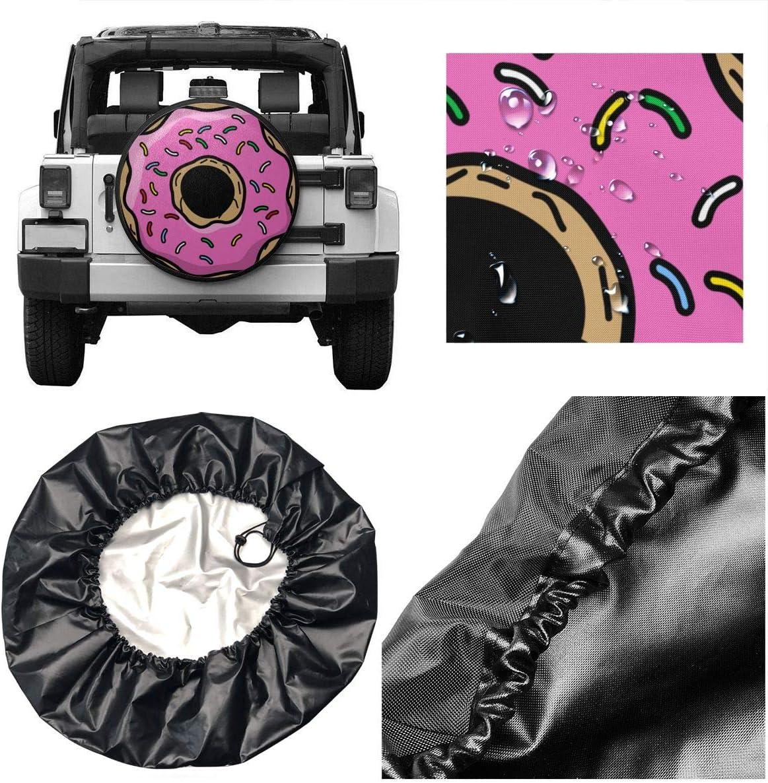 VTIUA Horse Polyester Universal Sunscreen Funda para Rueda de Repuesto para Weatherproof for Jeep,Trailer,RV,SUV,Truck and Many Vehicles 14 15 16 17