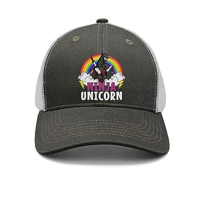 Amazon.com: Ninja Unicorn Samurai - Gorra de béisbol ...