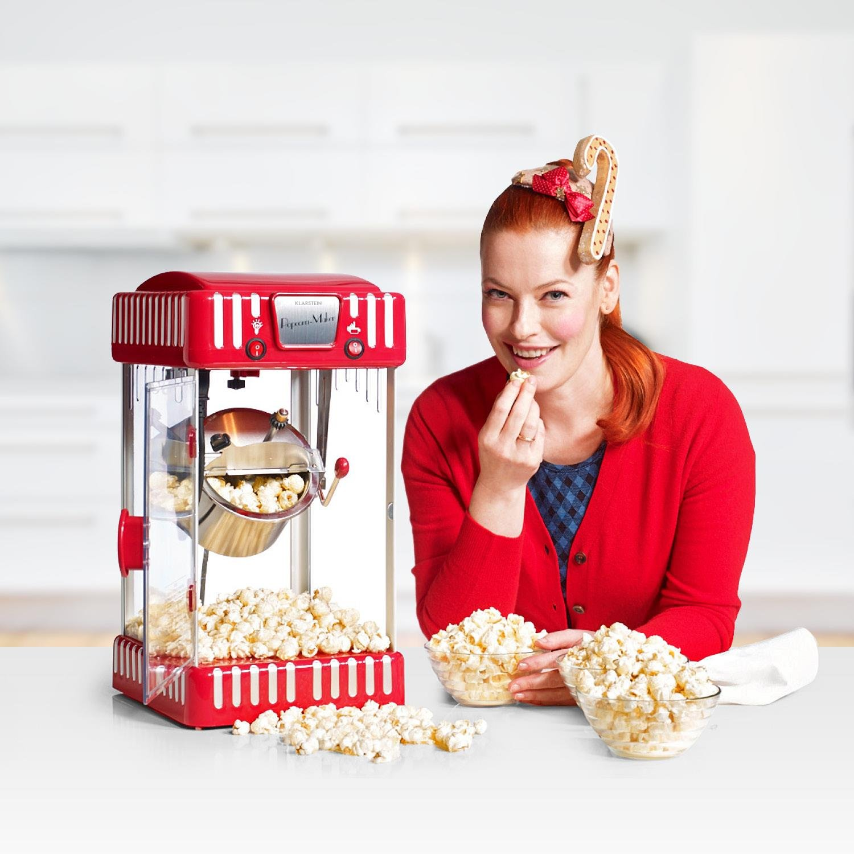 Sceneria obraz popcorn maszyna