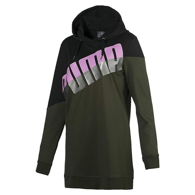 new styles 74cdf 62aee Puma Damen Ace Blocked Hoodie Sweatshirt
