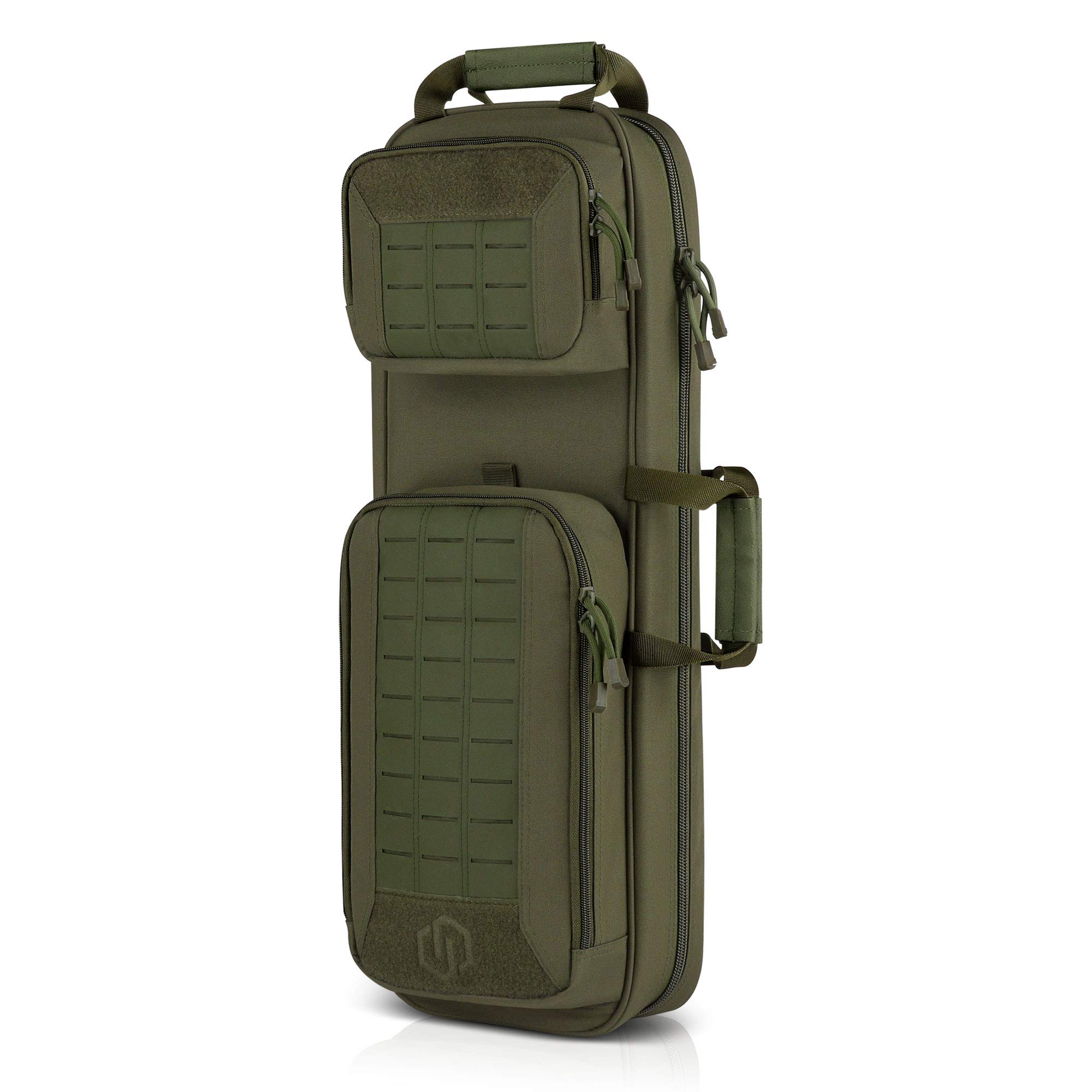 Savior Equipment Urban Takedown Bag Carbine Rifle Backpack Survival Gun Shotgun Firearm Transportation Case Sling Pack - Additional Storage, Deluxe Carrying Handle with Shoulder Straps Included by Savior Equipment