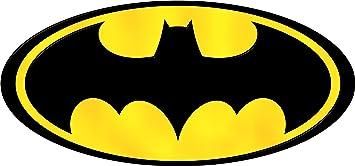 Pegatina autoadhesiva con insignia de Batman, 8 cm: Amazon.es: Hogar