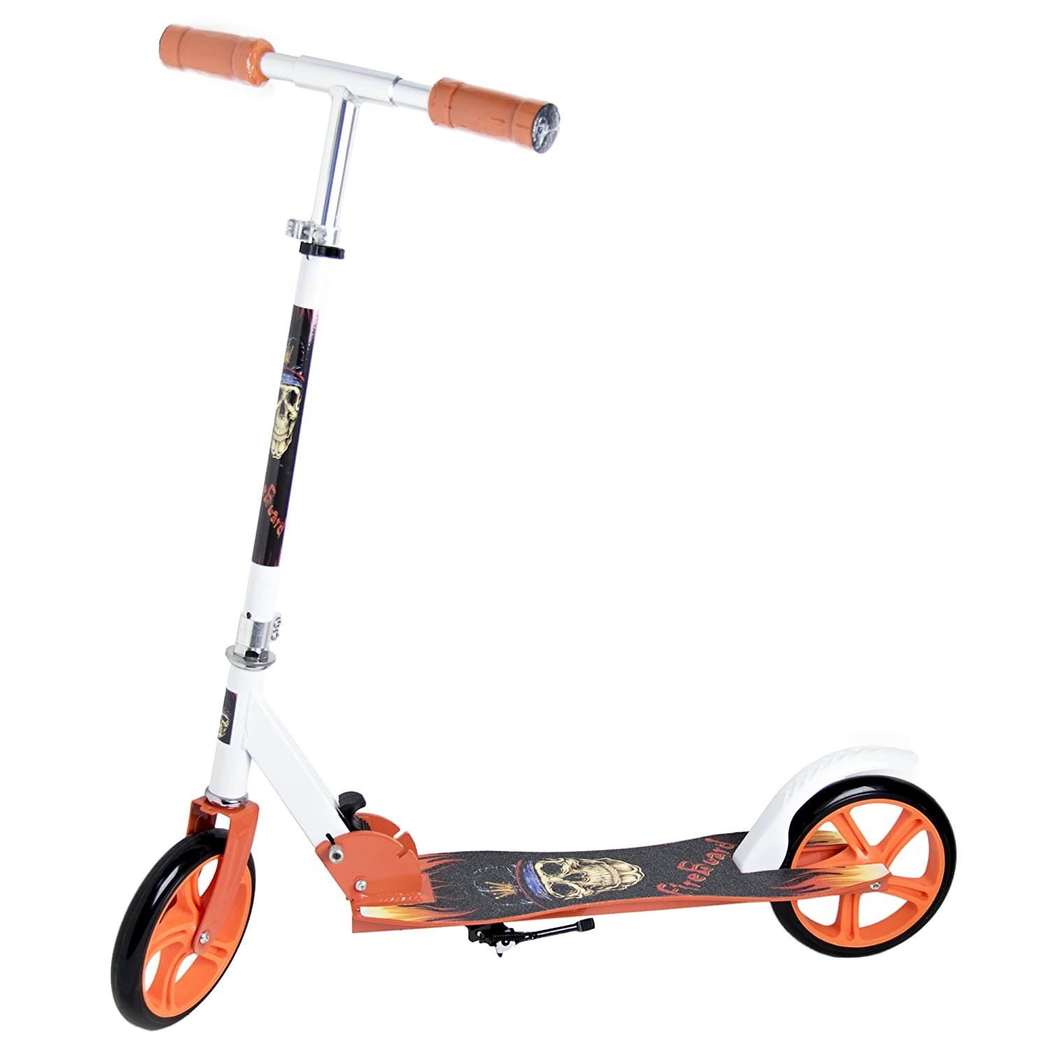 Patinete Scooter Urban Plegable Big Wheel, 2 ruedas grandes ...