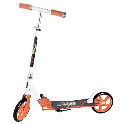 Patinete Scooter Urban Plegable Big Wheel, 2 ruedas grandes ...