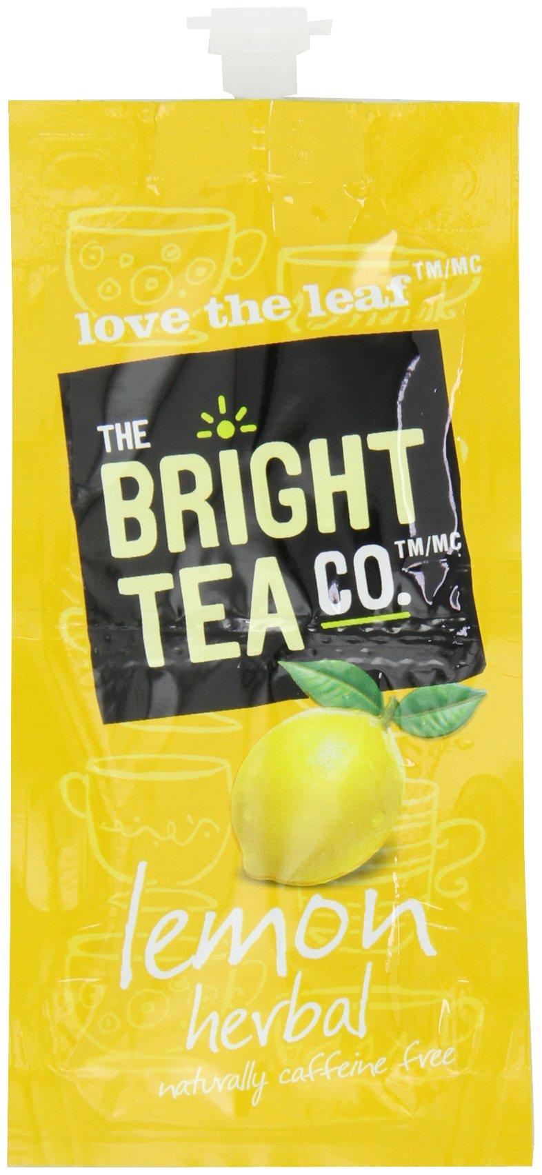 FLAVIA Tea, Lemon Herbal, 20-Count Fresh Packs (Pack of 5)