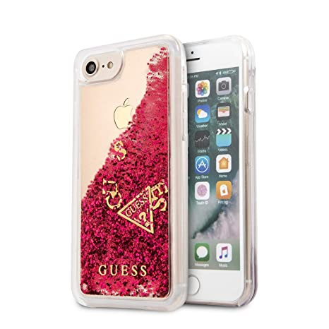 enorme sconto b37a1 85521 GUESS ® iPhone 7 Timeless Non-Toxic Liquid Glitter: Amazon ...