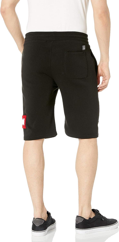 Southpole Mens Fleece Jogger Shorts