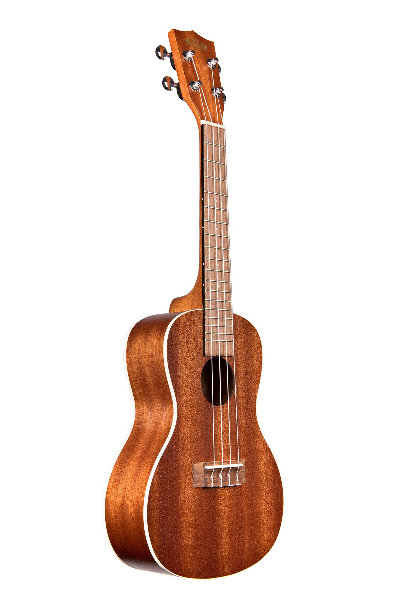 Kala Satin Mahogany Concert Ukulele with White Binding (KA-C)
