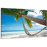 Visario 5039 Isla paradisíaca - Fotografía sobre lienzo (120 x 80 cm)